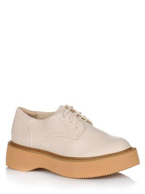 Туфли бежевые | 5539132