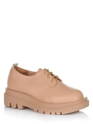 Туфли бежевые | 5539137