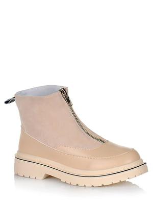 Ботинки бежевые | 5539143