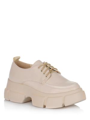 Туфли бежевые | 5539152