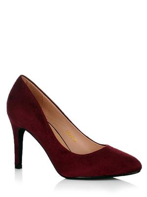 Туфли бордовые | 5539192