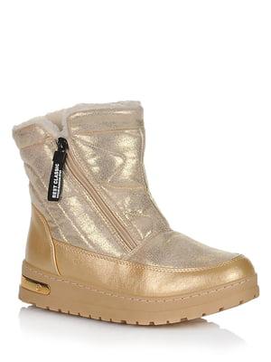 Ботинки золотистого цвета | 5539195