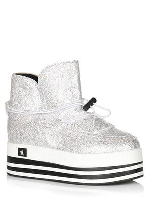 Ботинки серые | 5539212
