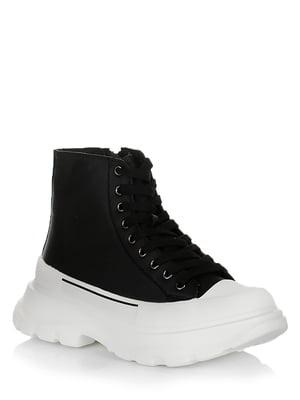 Ботинки черно-белые | 5539230