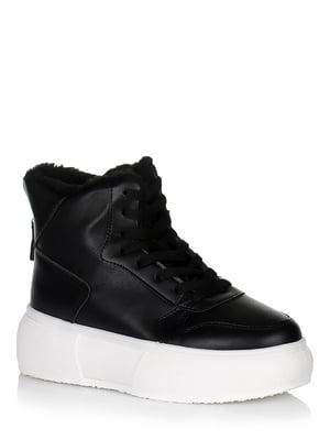 Ботинки черно-белые | 5539231