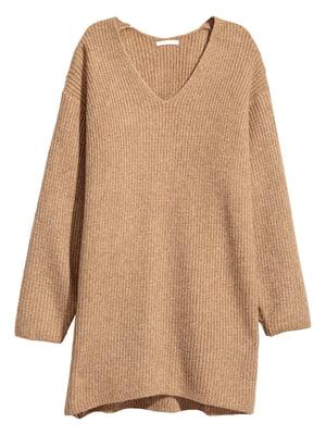 Пуловер бежевий | 5539440
