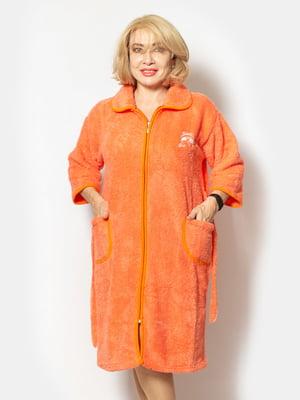 Халат помаранчевий   5539564