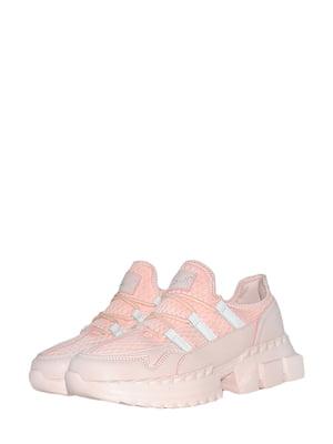 Кроссовки розовые | 5535874
