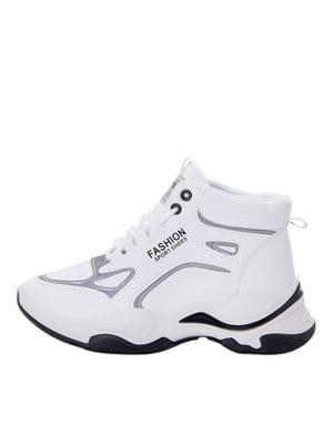 Снікерси білі з логотипом | 5539710