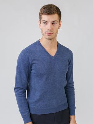 Пуловер цвета джинс | 5538290