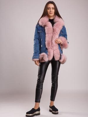 Куртка сине-розовая | 5539772