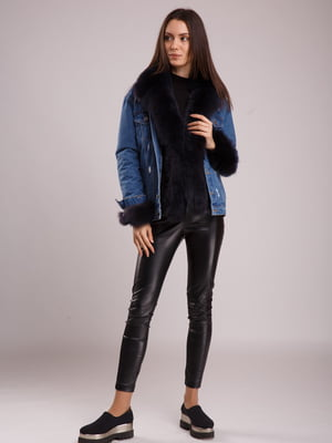 Куртка сине-черная | 5539773