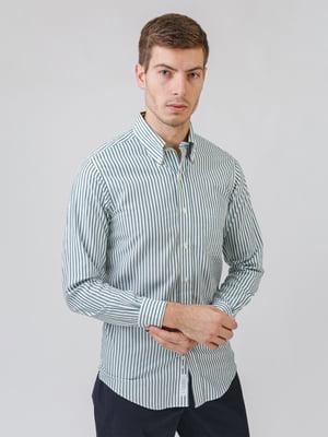 Рубашка белая в полоску | 5538244
