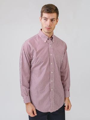 Рубашка белая в полоску | 5538243