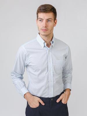 Рубашка голубая | 5538239