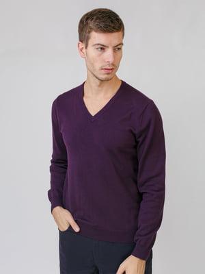 Пуловер фиолетовый | 5538286
