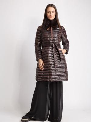 Пальто коричневе | 5539787