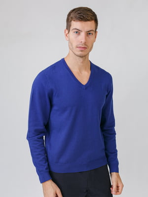 Пуловер синий | 5538287