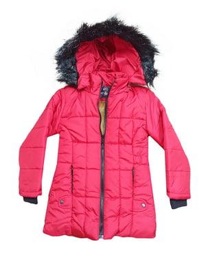 Куртка малинового кольору | 5539830