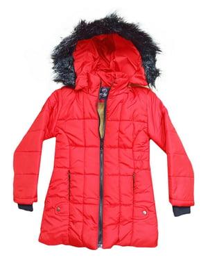 Куртка червоного кольору | 5539831