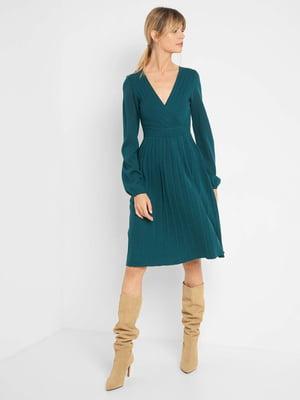 Сукня темно-бірюзового кольору | 5540000