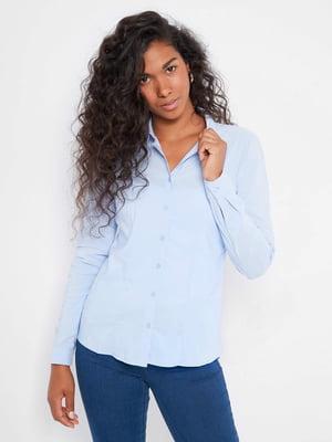 Рубашка голубая | 5540013