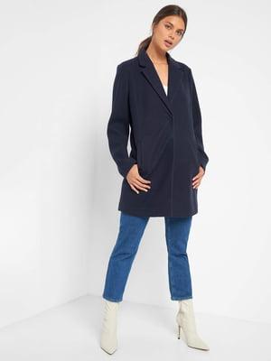 Пальто темно-синє   5540036