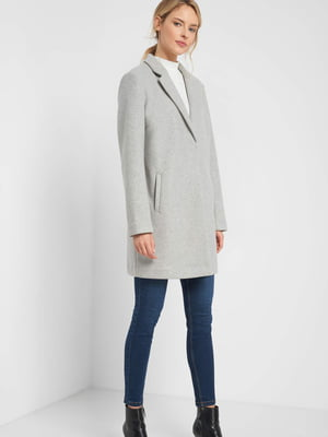 Пальто сіре   5540037