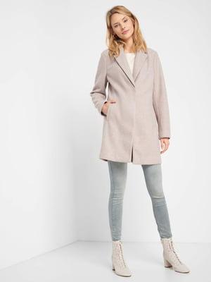 Пальто бузкового кольору   5540038