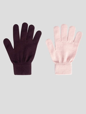 Комплект рукавичок (2 пари) | 5540078