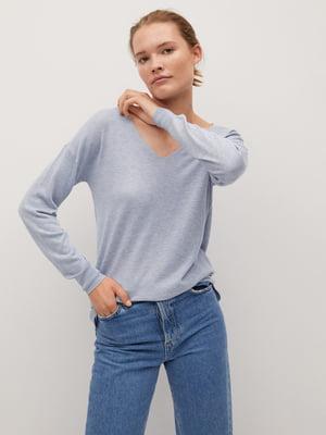 Пуловер блакитний | 5540106