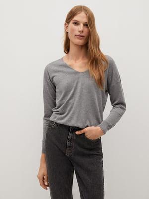 Пуловер сірий | 5540107
