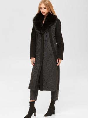Пальто чорне | 5540939