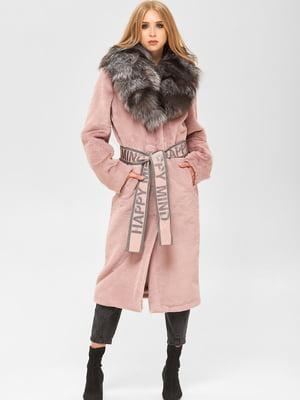 Шуба розовая | 5540941