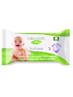 Серветки дитячі вологі Corman Organyc (60 шт.)   5540434
