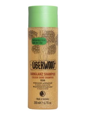 Шампунь «Сяйво кольору» Überwood для фарбованого і тьмяного волосся (200 мл) | 5540445