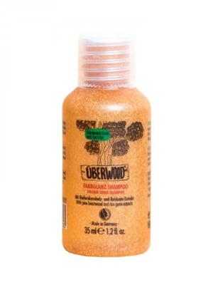 Шампунь «Сяйво кольору» Überwood для фарбованого і тьмяного волосся (35 мл) | 5540451