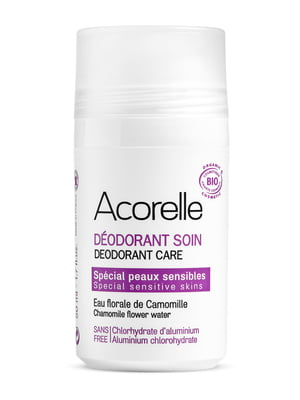Дезодорант освежающий минеральный для чувствительной кожи «Ромашка и миндаль» органический (50 мл)   5540458