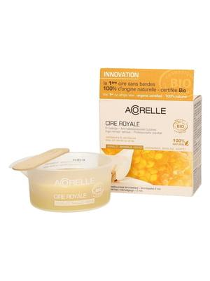 Воск для депиляции деликатных зон нежный «Пчелиное молочко» органический (100 г) | 5540486