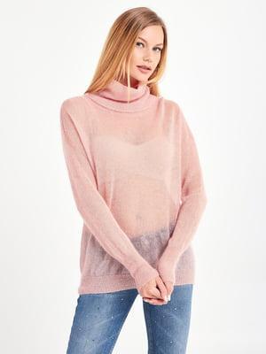 Джемпер розовый | 5529190
