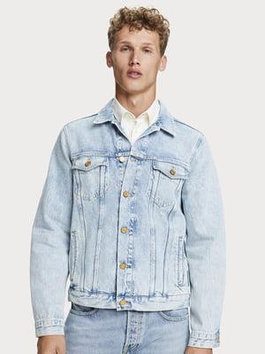 Куртка джинсовая голубая | 5529234