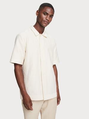 Сорочка молочного кольору | 5529264