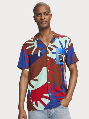 Рубашка в принт | 5529265