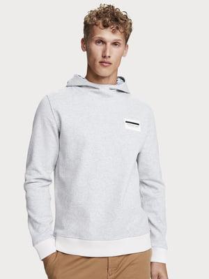 Свитшот серо-белый | 5529266
