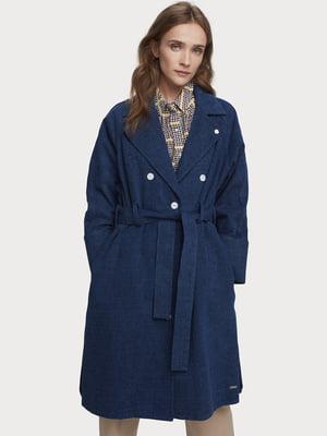 Пальто синее | 5529308