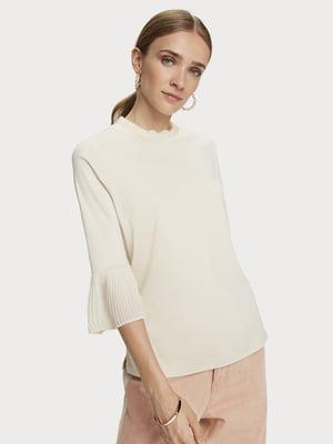 Блуза светло-бежевая | 5529348