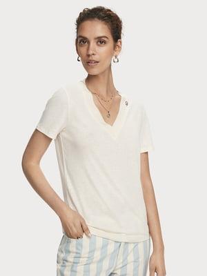 Блуза светло-бежевая | 5529350