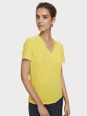 Блуза желтая | 5529351