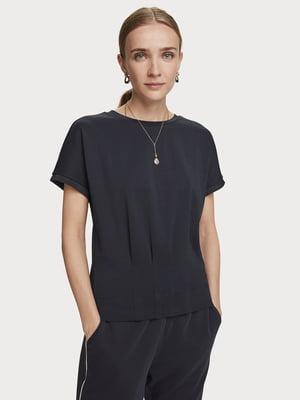 Блуза темно-синяя | 5529353