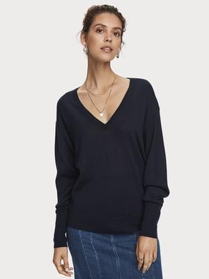Пуловер чорний | 5529393